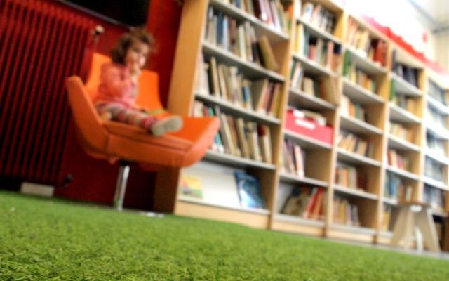 Μια βόλτα στην Παιδική βιβλιοθήκη