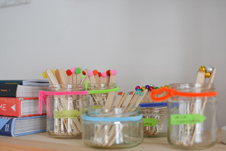DIY with creative ideas at home