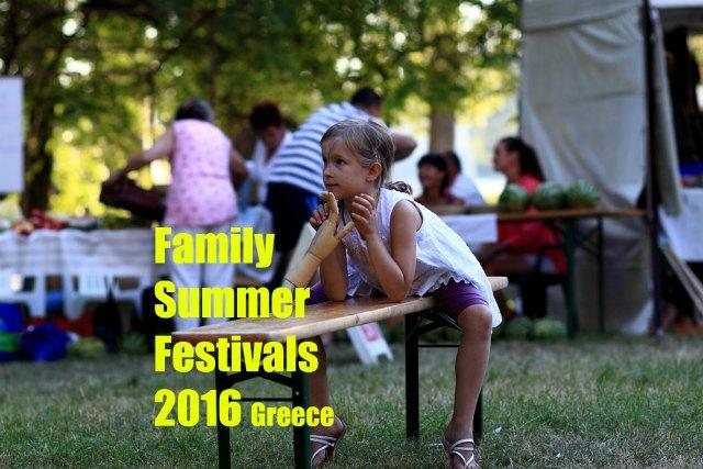 Family summer festivals 2016