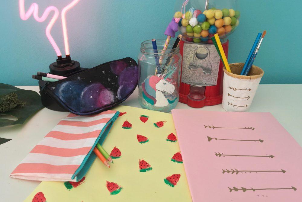 dbdcd3e7876 DIY- Πώς να φτιάξετε τα δικά σας σχολικά: Κασετίνες – Τετράδια – Μολυβοθήκη